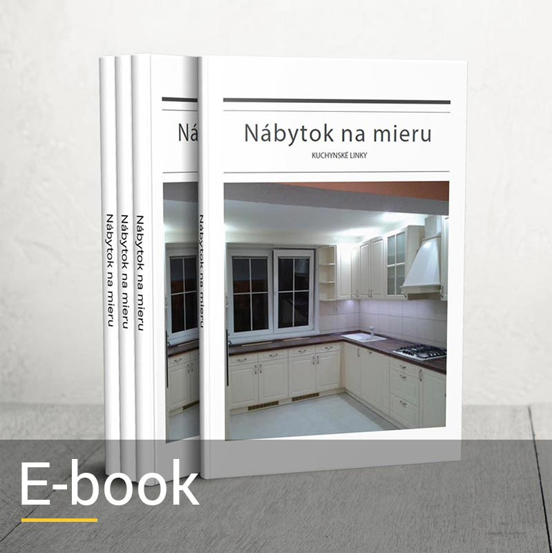 E-book kuchynské linky na mieru